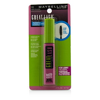 Maybelline Great Lash Waterproof Mascara - #111 Very Black  12.7ml/0.43oz