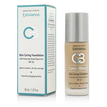 Exuviance  CoverBlend Skin Caring Foundation SPF20 - # Warm Beige  30ml/1oz