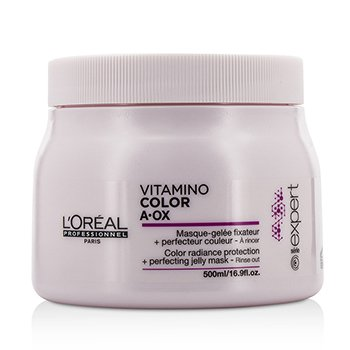 L'Oreal Professionnel Expert Serie - Vitamino Color A.OX Color Radiance Protection+ Perfecting Jelly Mask -   500ml/16.9oz
