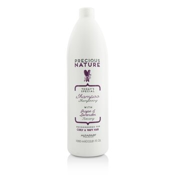 AlfaParf Precious Nature Today's Special Shampoo (For Curly & Wavy Hair)  1000ml/33.81oz