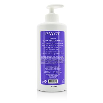 Payot Le Corps Fresh Ultra Performance Relaxing & Refreshing Leg & Foot Care - Salon Size  500ml/16.9oz