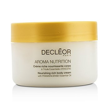 Decleor Aroma Nutrition Nourishing Rich Body Cream - For Dry Skin  200ml/6.9oz