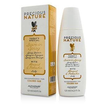 AlfaParf Precious Nature Today's Special Leave-In Spray with Almond & Pistachia (For Colored Hair)  125ml/4.23oz