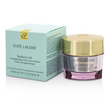 Estée Lauder Resilience Lift Firming/Sculpting Oil-In-Creme Infusion (For Dry & Very Dry Skin)  50ml/1.7oz
