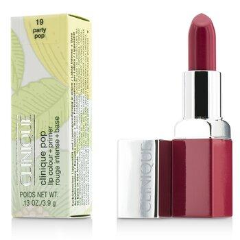 Clinique Clinique Pop Lip Colour + Primer - # 19 Party Pop  3.9g/0.13oz