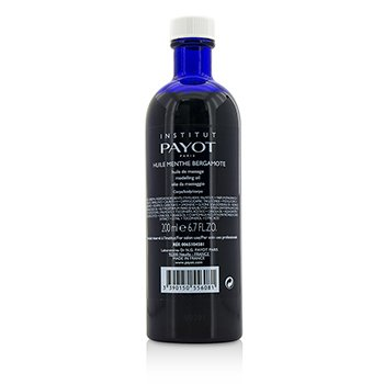 Payot Huile Menthe Bergamote Modelling Oil - Salon Product  200ml/6.7oz