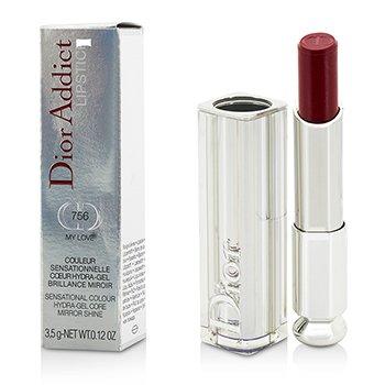 Christian Dior Dior Addict Hydra Gel Core Mirror Shine Lipstick - #756 My Love  3.5g/0.12oz