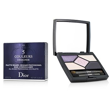 Christian Dior 5 Couleurs Designer All In One Professional Eye Palette - # 808 Purple Design  5.7g/0.2oz