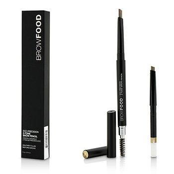 LashFood BrowFood Eco Precision 2 Tone Олівець для Брів із Запасником - #Blonde  2x0.4g/0.014oz