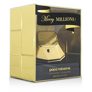 Paco Rabanne สเปรย์น้ำหอม Lady Million Merry Millions EDP  80ml/2.7oz