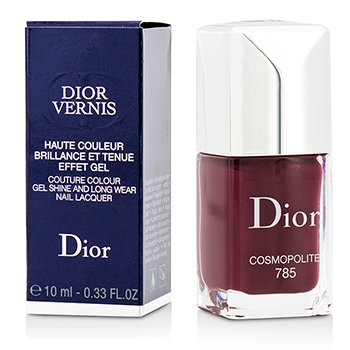 Christian Dior Dior Vernis Couture Colour Gel Shine & Long Wear Nail Lacquer - # 785 Cosmopolite  10ml/0.33oz