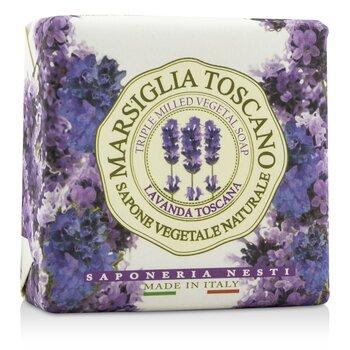 Nesti Dante Marsiglia Toscano Triple Milled Vegetal Soap - Lavanda Toscana  200g-7oz