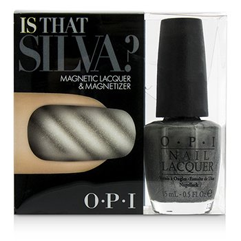 O.P.I Magnetic Lacquers & Magnetizers - #Is That Silva?