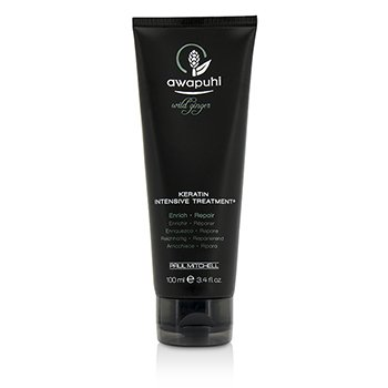 Paul Mitchell Awapuhi Wild Ginger Keratin Tratamiento Intenso (Para Cabello Seco & Da�ado)  100ml/3.4oz