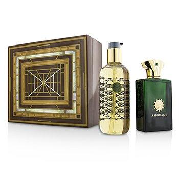 Amouage Epic Coffret: Eau De Parfum Spray 100ml/3.4oz + Bath & Shower Gel 300ml/10oz  2pcs