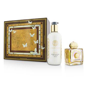 Amouage Fate Coffret: Eau De Parfum Spray 100ml/3.4oz + Loción Corporal 300ml/10oz  2pcs
