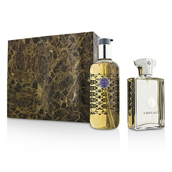 Amouage Reflection Coffret: Eau De Parfum Spray 100ml/3.4oz + Gel de Ducha & Baño 300ml/10oz  2pcs