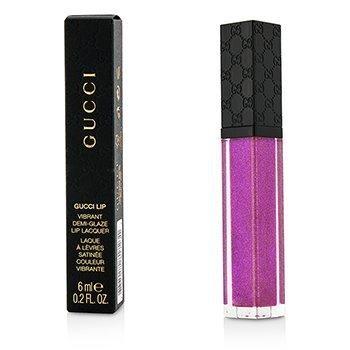 Gucci Vibrant Demi Glaze Luciu de Buze - #080 Potent Violet  6ml/0.2oz