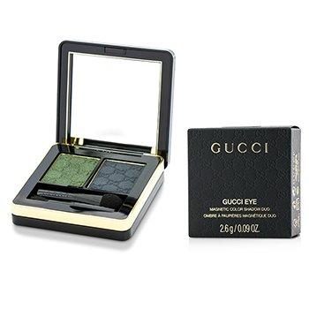 Gucci Magnetic Color Fard de Pleoape Duo - #080 Malachite  2.6g/0.09oz