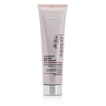L'Oreal Professionnel Expert Serie - Vitamino Color Soft Cleanser Color Radiance Protection + Perfecting  Champú Suave  150ml/5oz