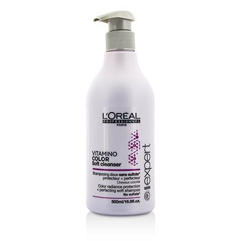 L'Oreal Professionnel Expert Serie - Vitamino Color Soft Cleanser Color Radiance Protection + Perfecting  Champ� Suave  500ml/16.9oz