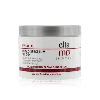 EltaMD UV Facial Moisturizing Facial Sunscreen SPF 30 - קרם הגנה לעור יבש  114g/4oz