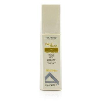 AlfaParf Semi Di Lino Diamond Cristalli Spray - Acabado Iluminante (Para todo Tipo de Cabellos)  125ml/4.22oz