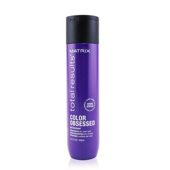 Matrix شامبو مضاد للأكسدة Total Results Color Obsessed (للعناية اللونية)  300ml/10.1oz