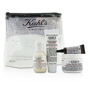 Kiehl's Ultra Set Facial:  4pcs+1bag