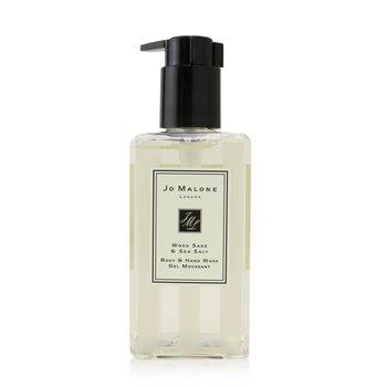 Jo Malone Wood Sage & Sea Salt Body & Hand Wash (With Pump)  250ml/8.5oz