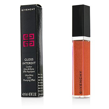 Givenchy Gloss Interdit Color Ultra Brillante Efecto Densificante - # 30 Candide Tangerine  6ml/0.21oz