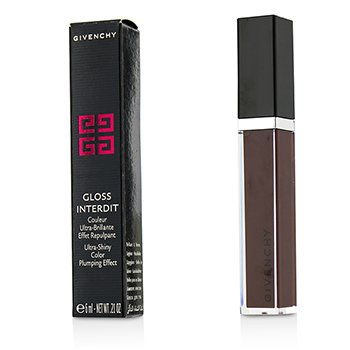 Givenchy Gloss Interdit Ultra Shiny Color Plumping Effect - # 31 Lune Carmin  6ml/0.21oz