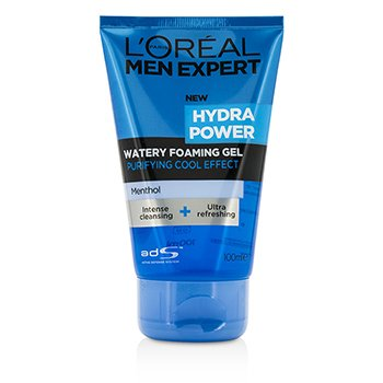 L'Oreal Pianka do mycia twarzy Men Expert Hydra Power Watery Foaming Gel  100ml/3.4oz