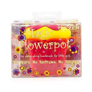 タングルティーザー Magic Flowerpot Children's Detangling Hair Brush - # Princess Pink  1pc