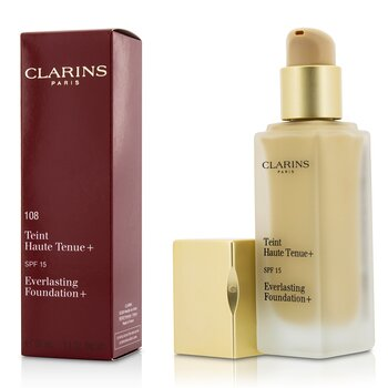 Clarins Everlasting Foundation+ SPF15 - # 108 Sand  30ml/1.1oz