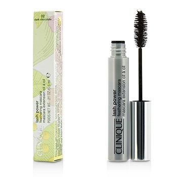 Clinique Lash Power Feathering Mascara - # 02 Dark Chocolate  5.5ml/0.21oz
