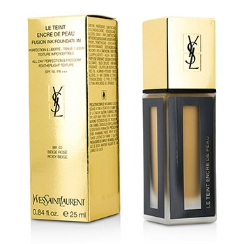 Yves Saint Laurent Le Teint Encre De Peau Fusion Ink Foundation SPF18 - # BR40 Rosy Beige  25ml/0.84oz