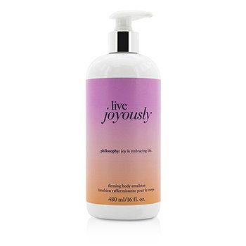Philosophy Live Joyously Firming Body Emulsion  480ml/16oz