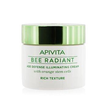 Apivita Bee Radiant Crema Iluminante Defensa de Edad - Textura Rica  50ml/1.76oz