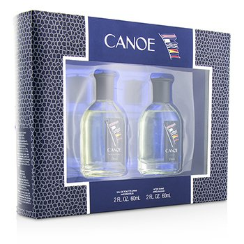 Dana Canoe Coffret: Eau De Toilette Spray 60ml/2oz + After Shave 60ml/2oz  2pcs