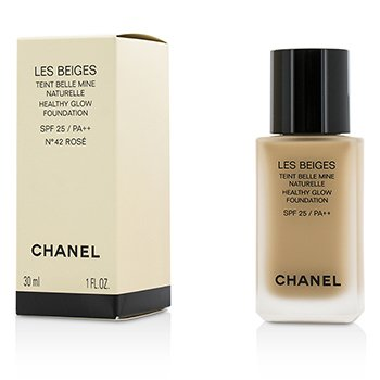 Chanel Les Beiges Healthy Glow Foundation SPF 25 - No. 42 Rose  30ml/1oz