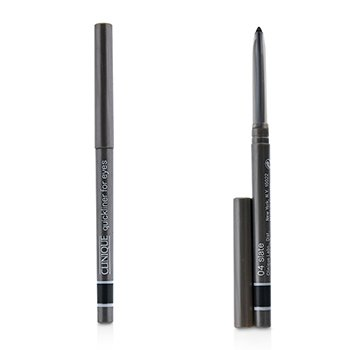 Clinique Quickliner For Eyes Duo Pack- 04 Slate (Unboxed Without Smudger)  2x0.3g/0.01oz