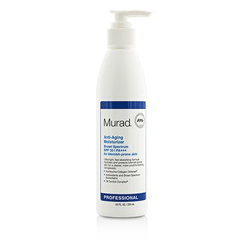 Murad Anti Aging Moisturizer SPF30 PA+++ - For Blemish-Prone Skin (Salon Size)  235ml/8oz
