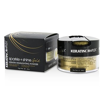 Keratin Complex Fashion Therapy Кератинова Увиразнююча Пудра для Блиску і Сяйва - # Gold  19ml/0.63oz