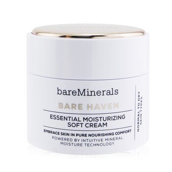 BareMinerals Bare Haven Essential Crema Suave Humectante - Piel Normal a Seca  50g/1.7oz