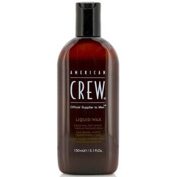 American Crew Men Cera Líquida (Control de Cabello, Agarre Mediano y Brillo)  150ml/5.1oz