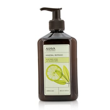 Ahava Mineral Botanic Velvet Body Lotion - Lemon & Sage  400ml/13.5oz