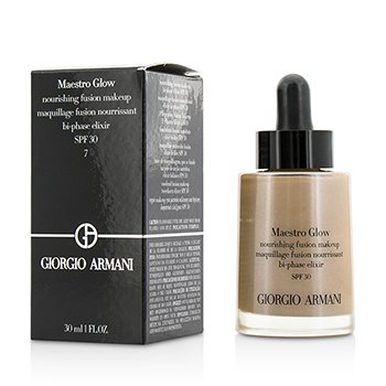 Giorgio Armani Maestro Glow Nourishing Fusion Maquillaje SPF 30 - #7  30ml/1oz