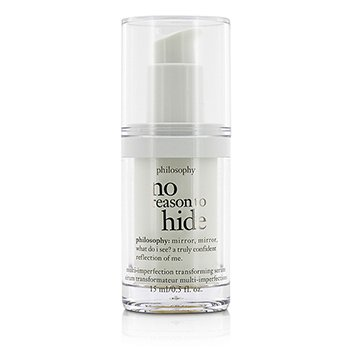 פילוסופי No Reason To Hide Multi-imperfection Transforming Serum - Travel Size (Unboxed)  15ml/0.5oz