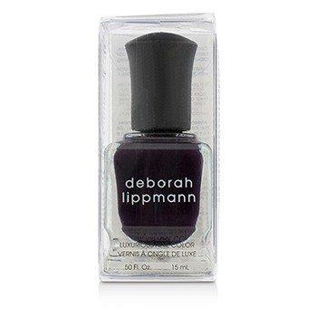 Deborah Lippmann Luxurious Nail Color - Dark Side Of The Moon (Absolutely Aubergine Creme)  15ml/0.5oz